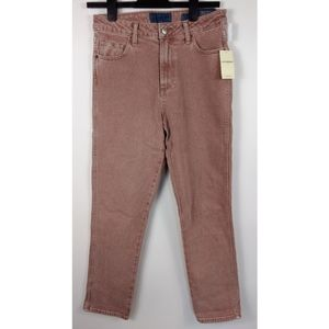 NWT LUCKY BRAND High Rise Tomboy Mauve Jeans 4